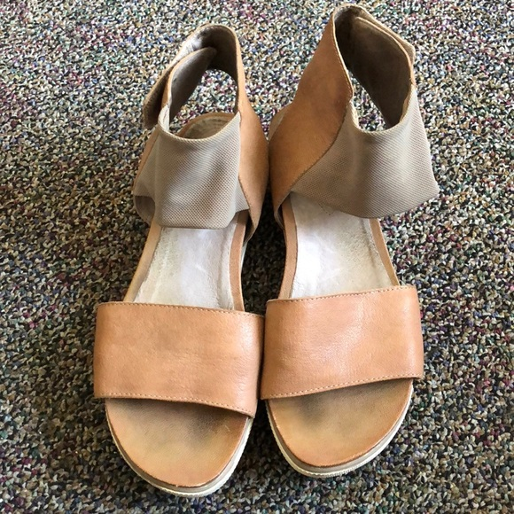 08a6e2e8b5f Eileen Fisher Shoes - Eileen fisher spree sport sandals size 5.5.